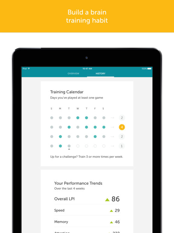 Screenshots for Lumosity — Brain Training