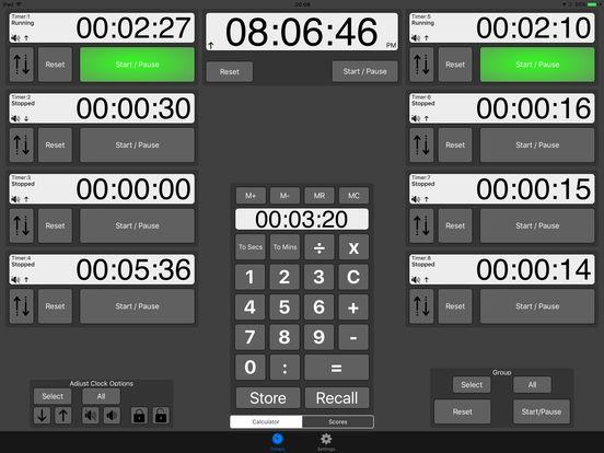 Time Pad iPad Screenshot 1