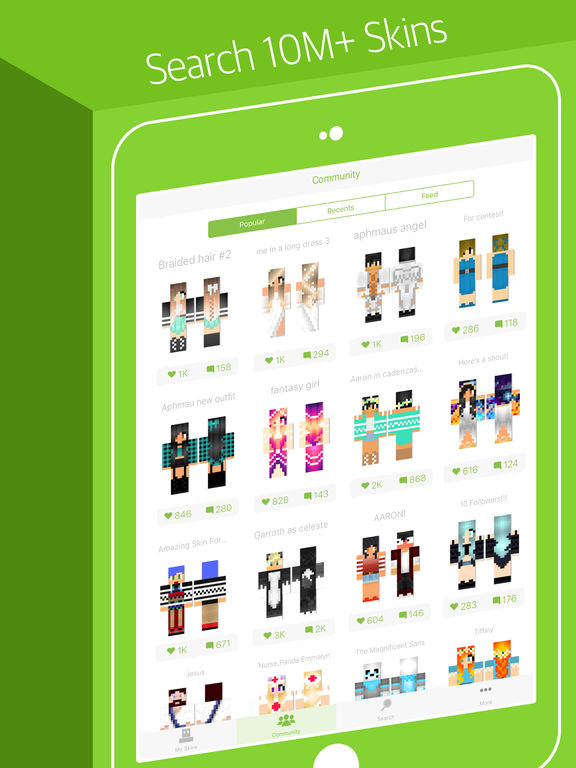 Skinseed Pro Skin Creator For Minecraft Skins AppRecs - Skins para minecraft pe jason