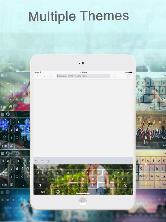 Screenshot #1 for My Photo Background Keyboard pro