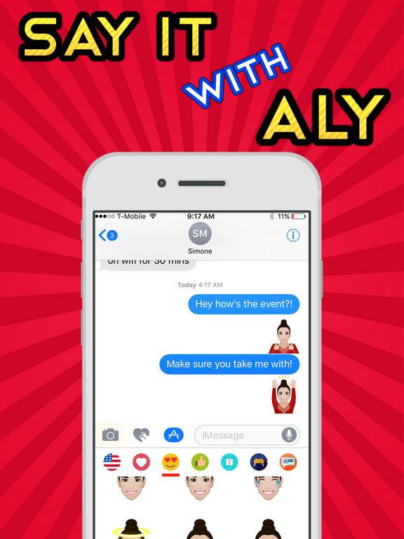 AlyRaismoji by Aly Raisman screenshot 9