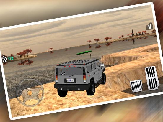 Uphill 4x4 Jeep Driving 3d screenshot 8