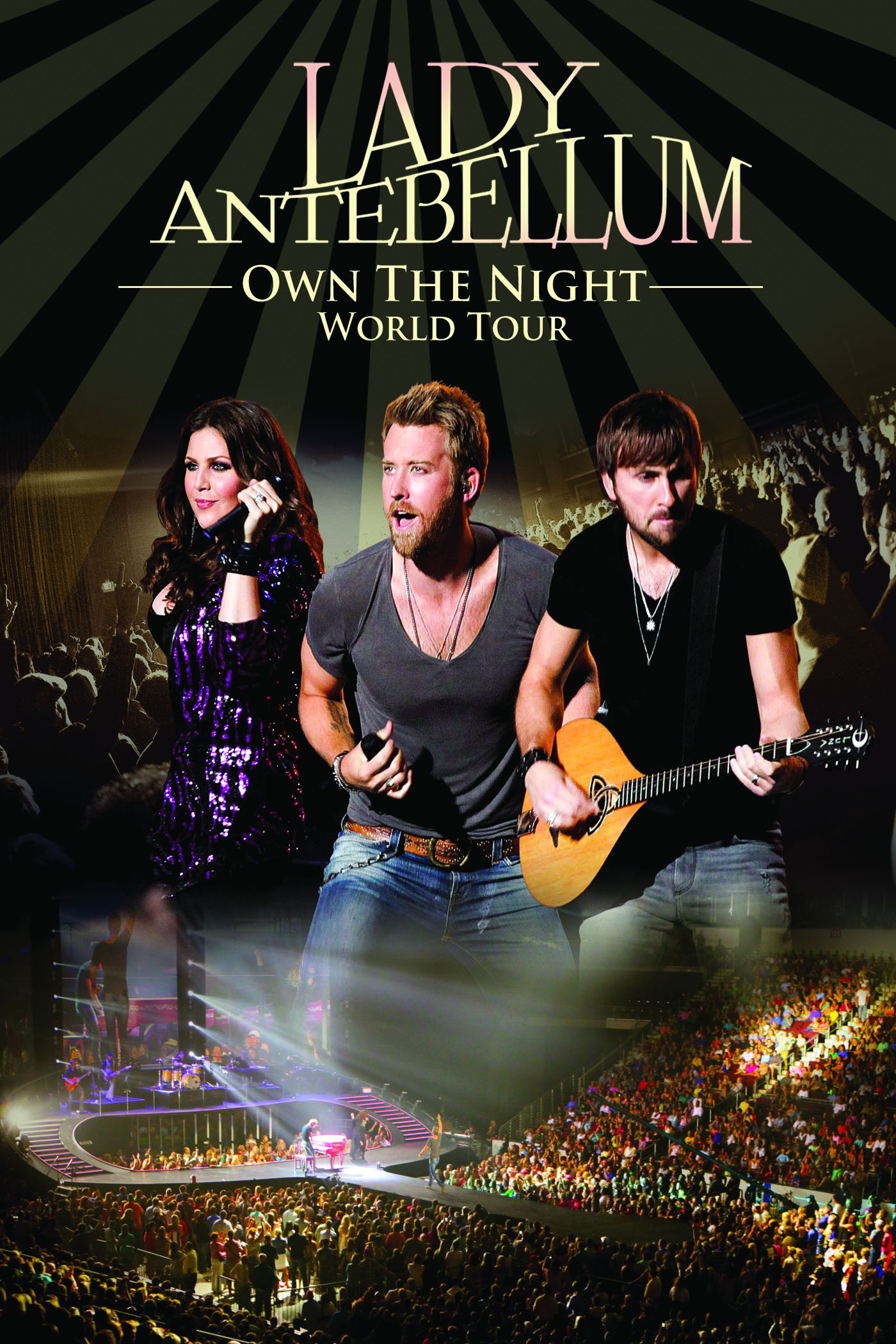 Lady Antebellum – Own the Night World (2012) [iTunes Movie - Full HD]