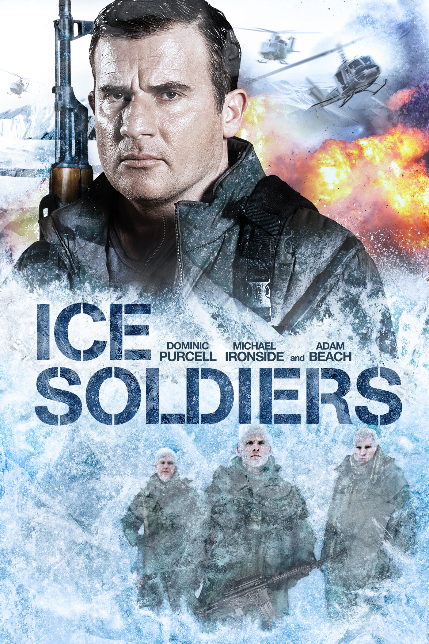 iTunes - Movies... Ice Soldiers 2013 Poster