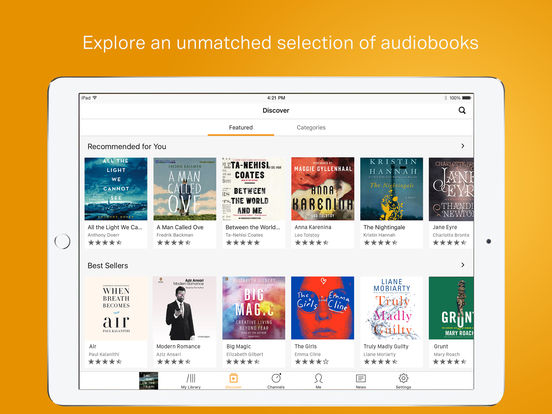 how to access audiobooks on iphone audio books by audible an company on the app 18536