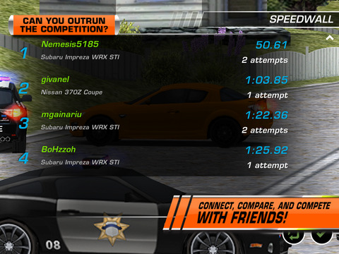 Need for Speed  Hot Pursuit HD screenshot #5