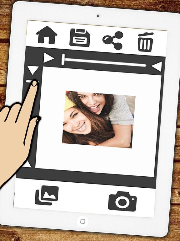 Surréaliste Télécharger Insta cadre blanc pour Instagram photos avec une HG-27