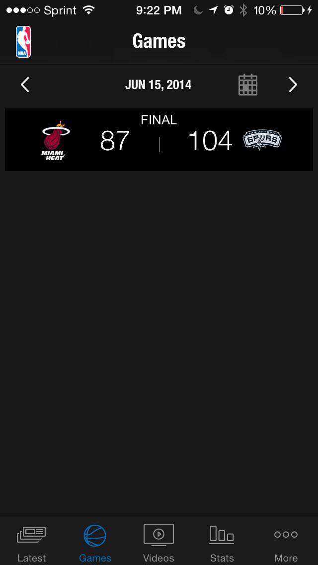 NBA: Live Games & Scores screenshot 1