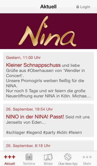 Tanzlokal NINA - Köln screenshot 1