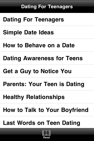 Dating for Teenagers screenshot #4