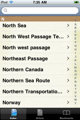 Northwest Passage Study Guide screenshot #2