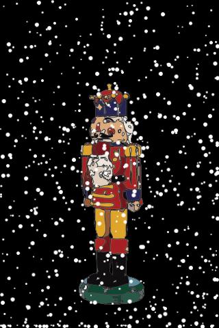 Christmas Nutcracker Snow Globe screenshot #1