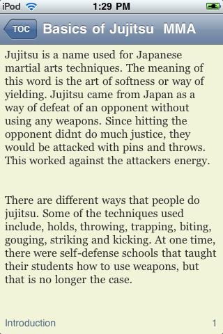 Basics of Jujitsu & MMA screenshot #3