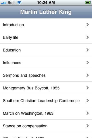 Dr. Martin Luther King Jr screenshot #4