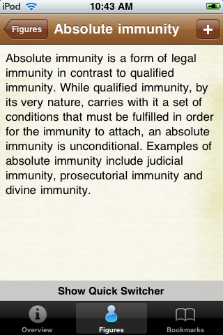 Legal Terms Glossary Book screenshot #3