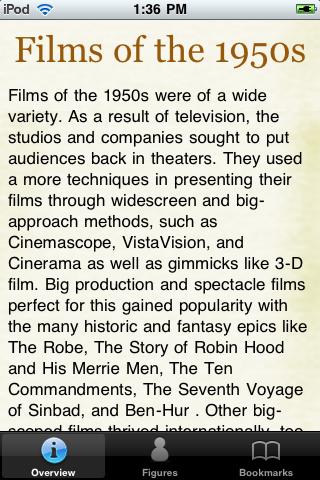 1950's Movie Almanac screenshot #1