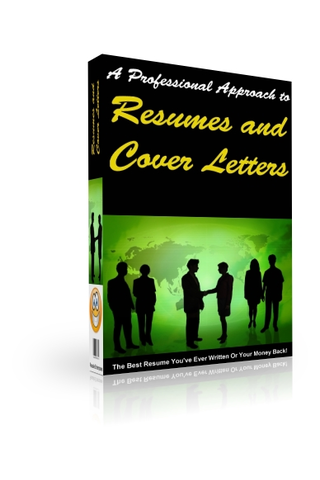 The Professional Approach to Resumes and Cover Letters screenshot #1