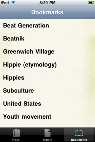 Hippies Study Guide screenshot #3