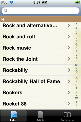 Rock and Roll Study Guide screenshot #2