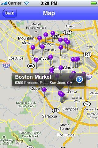 iLocate - Surplus Stores screenshot #2