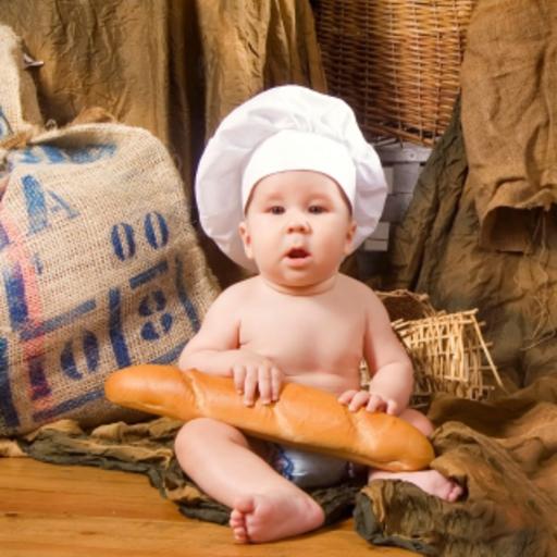 Baby Chef Slide Puzzle