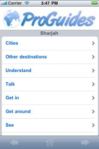 ProGuides - Sharjah screenshot #1