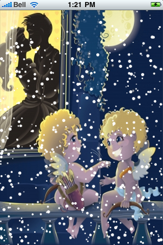 Valentine's Day Snow Globe screenshot #2