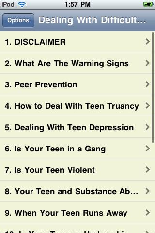 Dealing with Difficult Teens screenshot #2