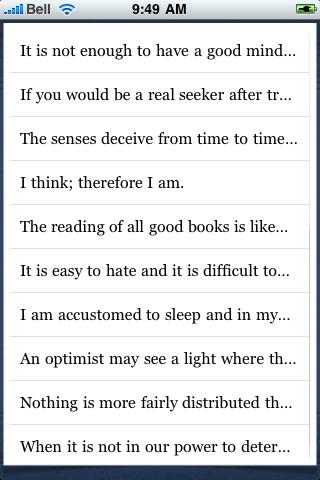René Descartes Quotes screenshot #3