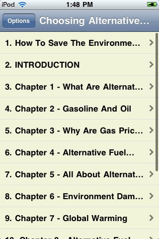 Choosing Alternative Fuel screenshot #2
