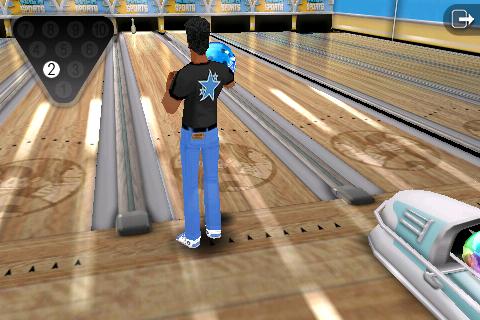 Flick Bowling screenshot 2
