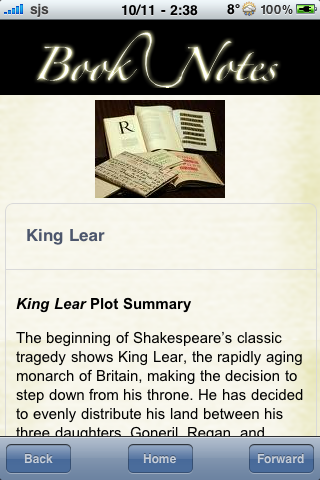 Book Notes - King Lear screenshot #3