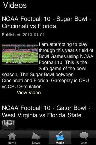 Baltimore MRGN ST College Football Fans screenshot #5