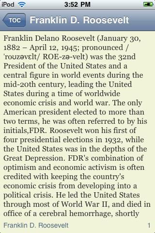 Franklin D. Roosevelt - Just the Facts screenshot #3