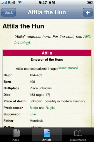 Attila the Hun Study Guide screenshot #1