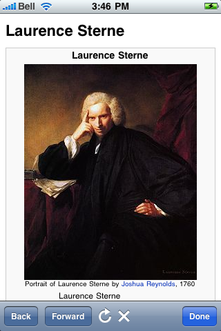 Laurence Sterne Quotes screenshot #1