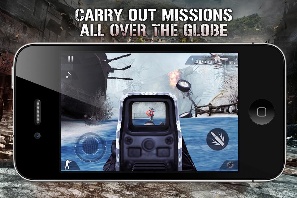 Modern Combat 2: Black Pegasus FREE screenshot #3