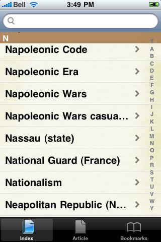 Napoleonic Wars Study Guide screenshot #3