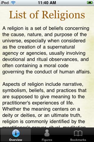 World Religions Pocket Book screenshot #1