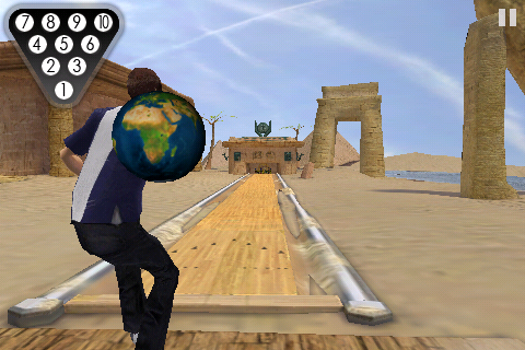 Flick Bowling 2 screenshot 1