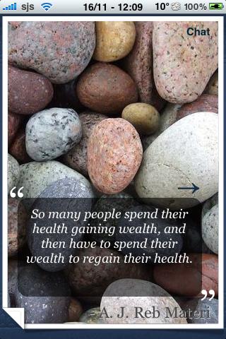 Health Quotes screenshot #2