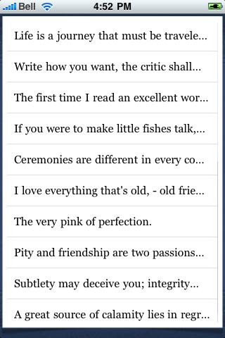 Oliver Goldsmith Quotes screenshot #3