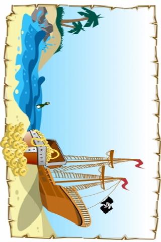 Pirate Treasure Slide Puzzle screenshot #1