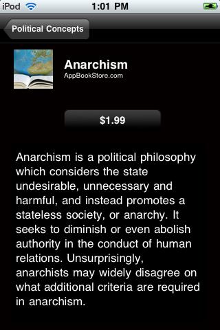 Political Concepts screenshot #4