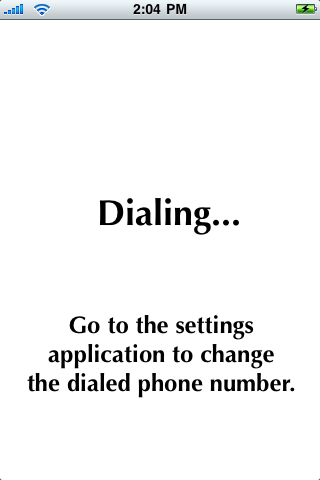 Dial My Boyfriend screenshot #1