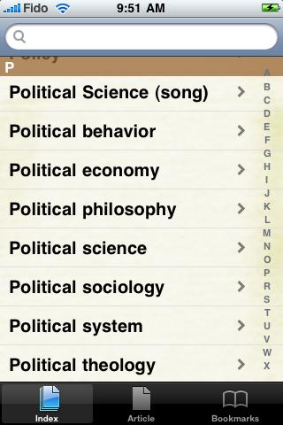 Political Science Study Guide screenshot #2
