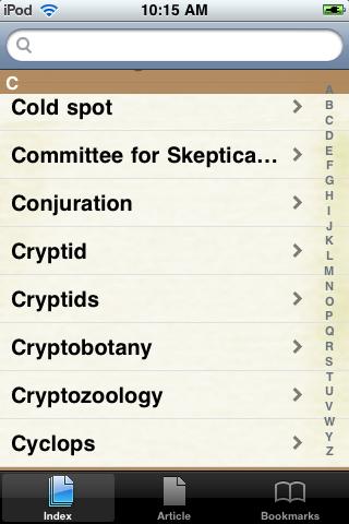 Cryptozoology Study Guide screenshot #2