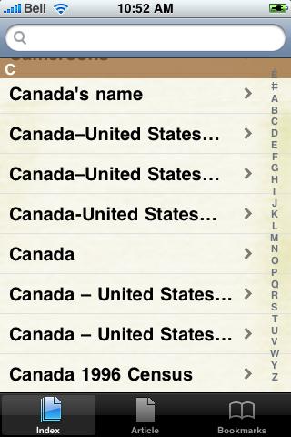 Canada Study Guide screenshot #3