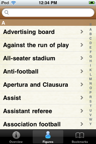 Soccer Terms screenshot #2