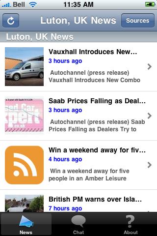 Luton, UK News screenshot #1